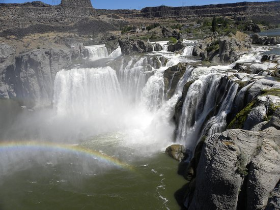 Shoshone Falls: The falls!
