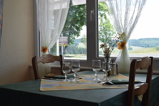 Mazan-l'Abbaye, Prancis: LALLIGIER Salle de restaurant