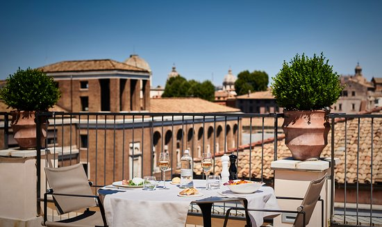 47 Circus Roof Garden Rome Ripa Menu Prices