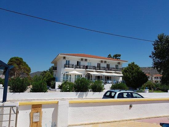 Potokaki, Grecia: Heerlijk hotel lekker rustig. Goed te doen.