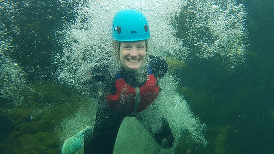 Broughton-in-Furness, UK : Experience crystal clear waters & Adrenalin filled 10m jumps with our extreme Ghyll Scramble.