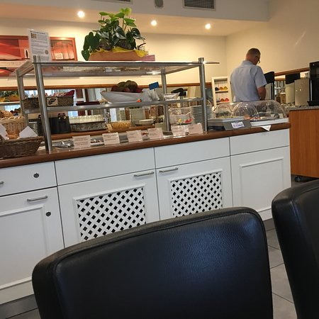 Quality Hotel Erlangen: A hotel with good breakfast