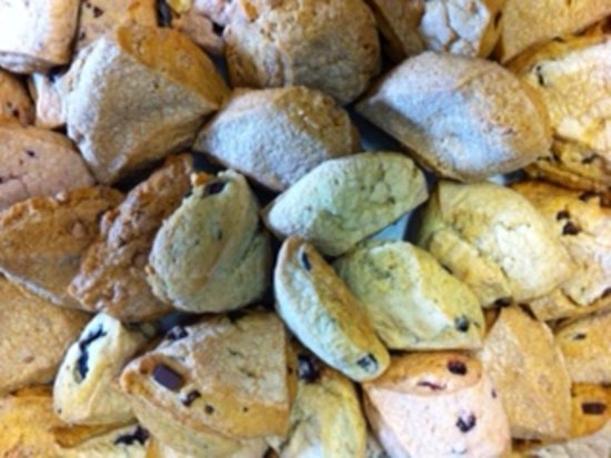 Sun Prairie, Wisconsin: SCONES!!!  Try one of our yummy treats!  We have four different kinds to choose from!