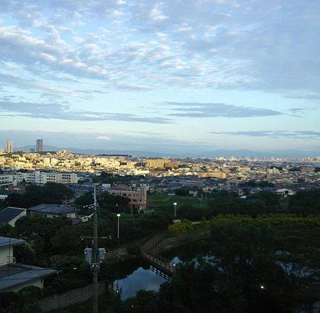 Mino, Japan: 大阪平野一望