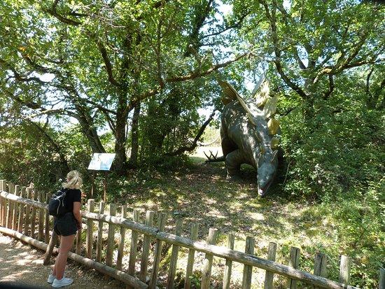 Lacave, France: Dimétrodon