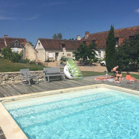 Cussay, Prancis: La Ferme Blanche