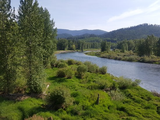 Cataldo, ID: CDA River view