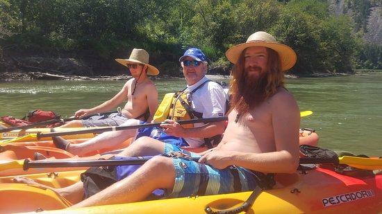 Thompson Falls, MT: Lovin' the Kayaking!
