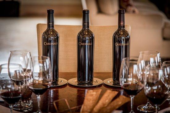 Cardinale Estate Winery: Cardinale Vertical Tasting