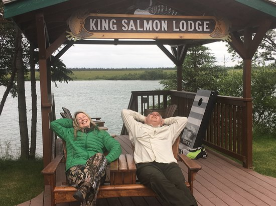 King Salmon, AK: Food