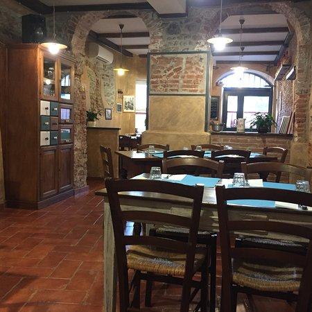 Ristorante osteria c 39 era una volta in genova con cucina for Cucina arredi genova
