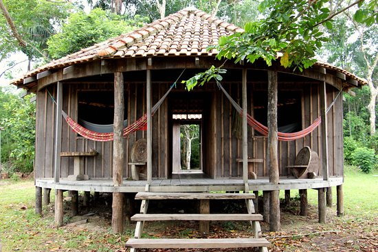Rorainopolis, RR: Maloca: where you sleep during your visit to the village