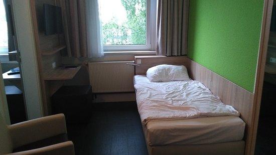 Hotel Citymaxx: Zweibettzimmer haben auch 2 Räume mit jeweils einem Bett