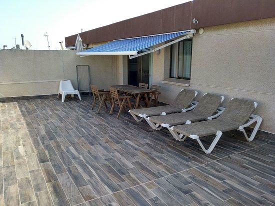 Terraza Del ático Picture Of Apartaments Cye Salou Salou