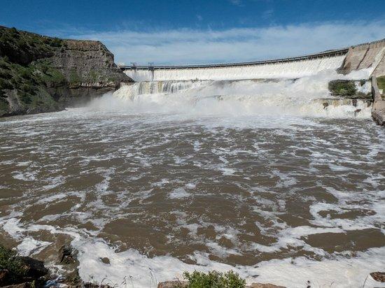 Ryan Dam - Great Falls of the Missouri: dam
