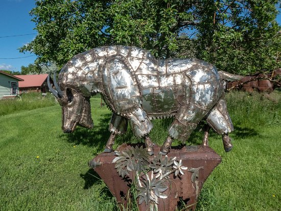 Drummond, Montana: sculpture