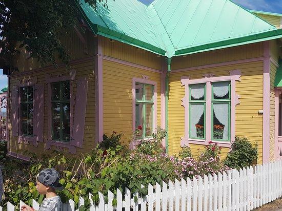 Kneippbyn Sommarland: Lite mer Pippis hus