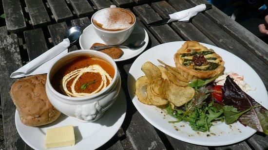 Grosmont, UK: Lunch