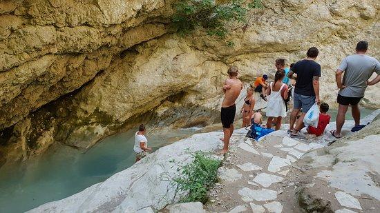 Nydri Waterfalls : the pool