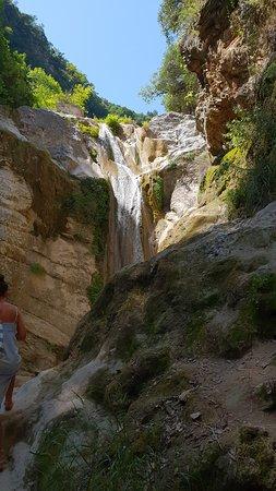 Nydri Waterfalls : The waterfall