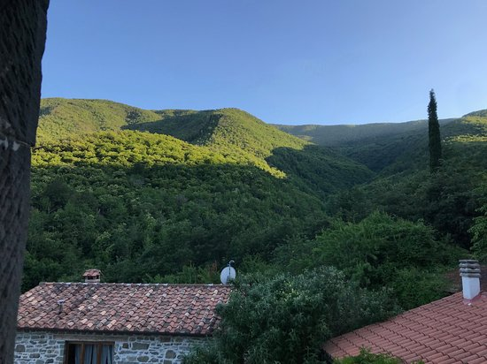 Caprese Michelangelo, Italien: view from our room