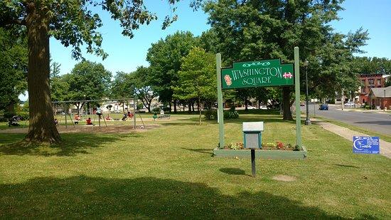 Welcome to Washington Square Park.
