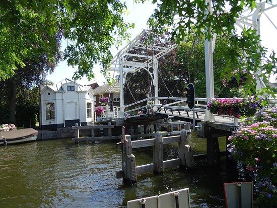 Loenen aan de Vecht, Países Baixos: Brug over rivier De Vecht bij Vreeland