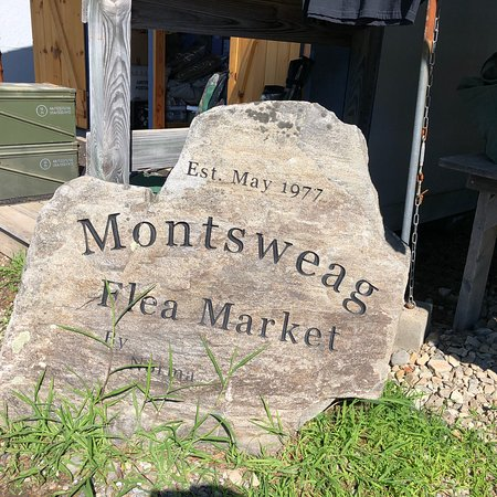 ‪‪Woolwich‬, ‪Maine‬: Treasure hunting at the Montsweag Flea Market‬