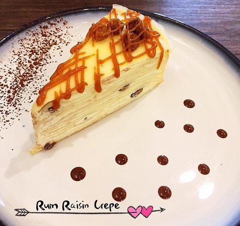 Run & Raisin Crepe