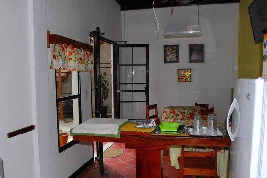 Danli, Honduras: cocina del hotel.
