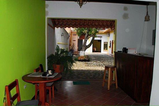 Danli, Honduras: Recepción del hotel.