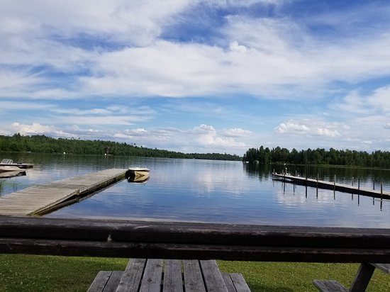 Cook, MN: Wolf Bay Lodge View
