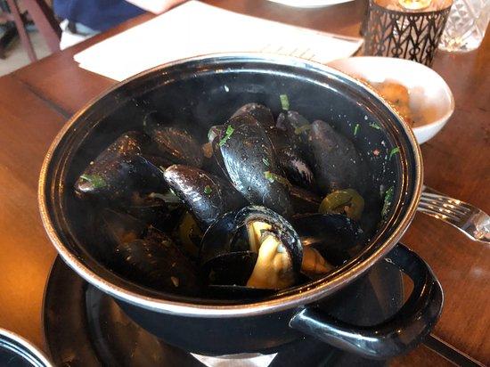 El Diablo mussels