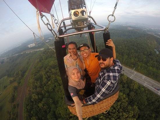 My Balloon Adventure: during the UPM area