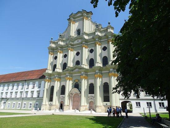 Furstenfeldbruck, Allemagne : Klosterkirche Fürstenfeld