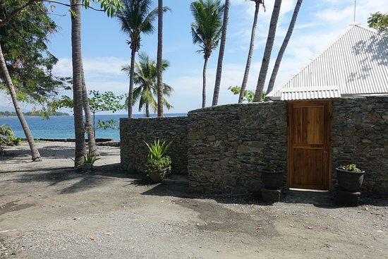 Liquica District, East Timor: External view of Foxtrot Villa.