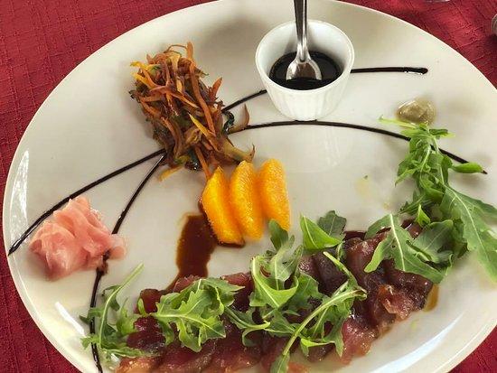 Plan Les Ouates, Suisse : Tataki de thon
