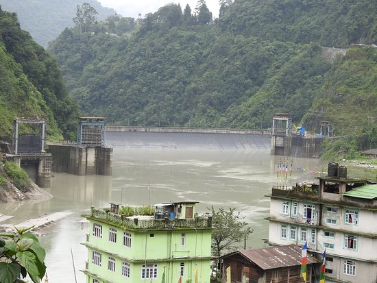 East Sikkim, อินเดีย: Teesta River ...