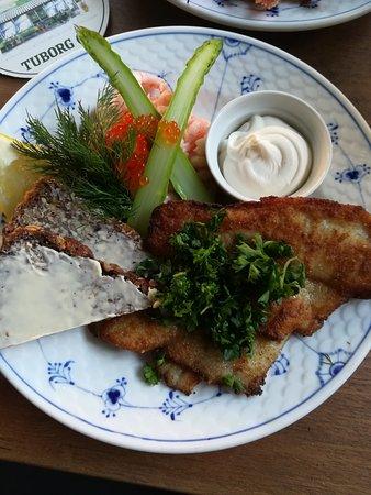 Hellerup, Δανία: White fish