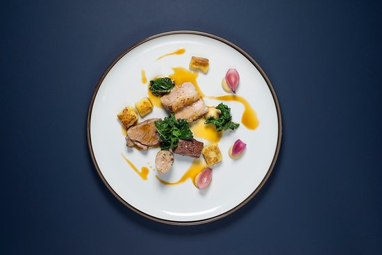 Colonialen Restaurant: Dish from a former tasting menu at Colonialen