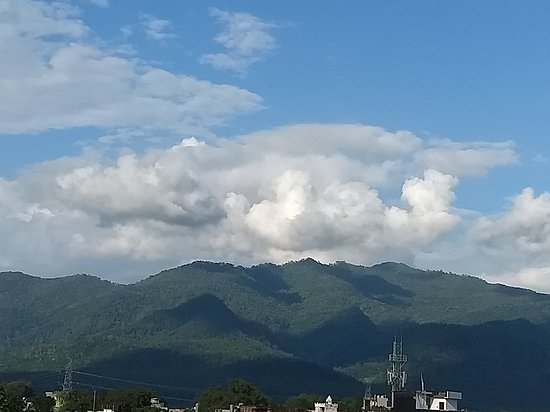 Tanakpur, Inde : VIEW FROM HOTEL