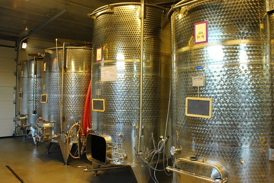 Domodossola, Ý: Inside the winery
