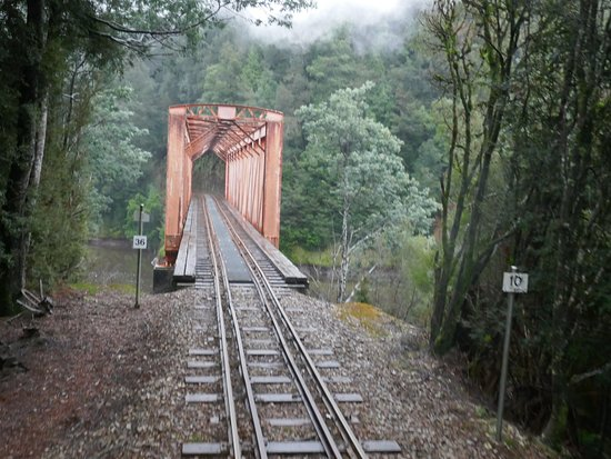 West Coast Wilderness Railway: River...