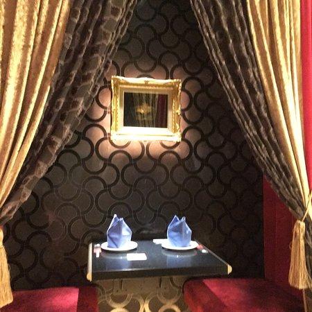 Tasty decor, food, impeccable service