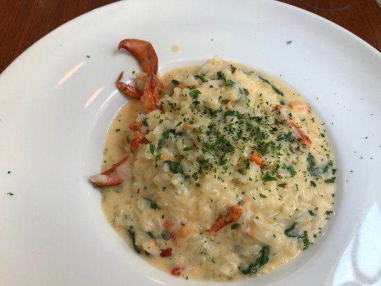 The Red House Restaurant: lobster risotto