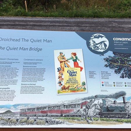 Oughterard, İrlanda: Quiet Man Bridge