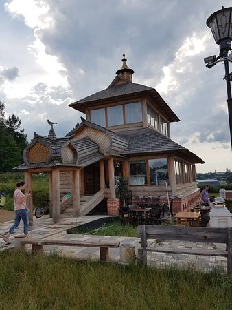 Borovsk, Ρωσία: Кафе Покровской церкви