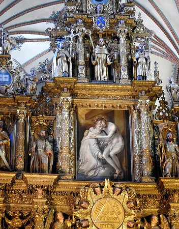 Pelplin, Poland: Zwieńczenie ołtarza głównego