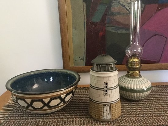 Ellison Bay, WI: Three treasures from Gills Rock Pottery