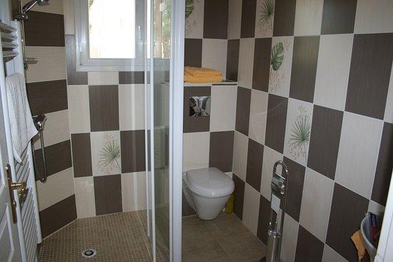 Salle de bain Chambre Bambou - Picture of Chambres d\'hotes Mas ...